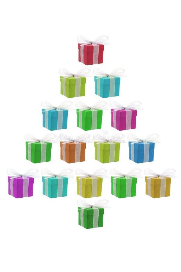 Download Árbol De Navidad Del Rectángulo De Regalo Foto de archivo - Imagen de día, color: 7280352