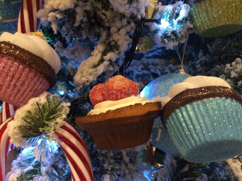 Árbol de navidad delicioso imagenes de archivo