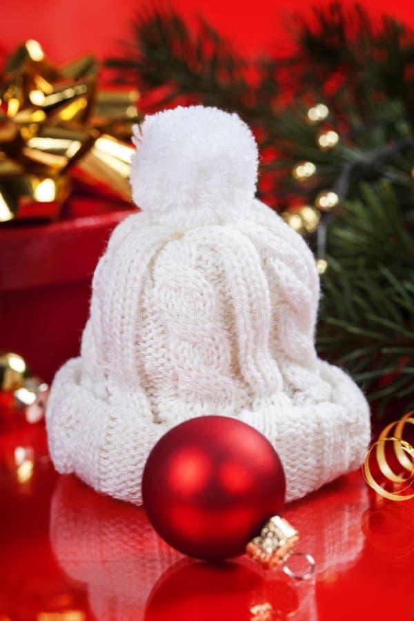 Árbol de navidad estilizado de la plata imagen de archivo