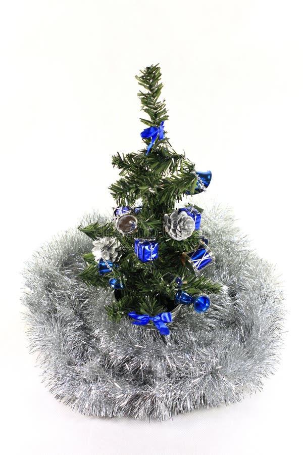 Árbol de navidad hermoso fotografía de archivo