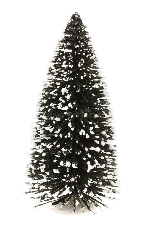 Árbol de navidad llano fotos de archivo