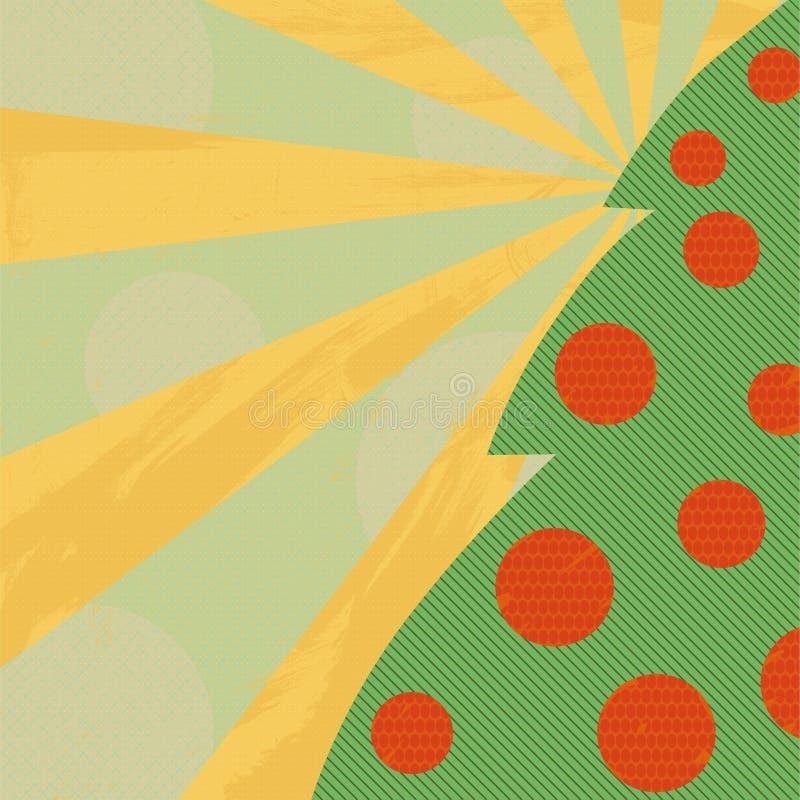 Árbol de navidad verde imagen de archivo