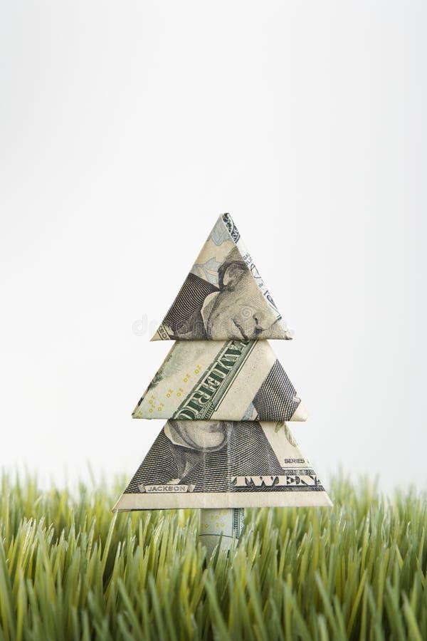 Árbol de Origami fotos de archivo