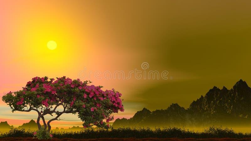 Árbol de Rose libre illustration