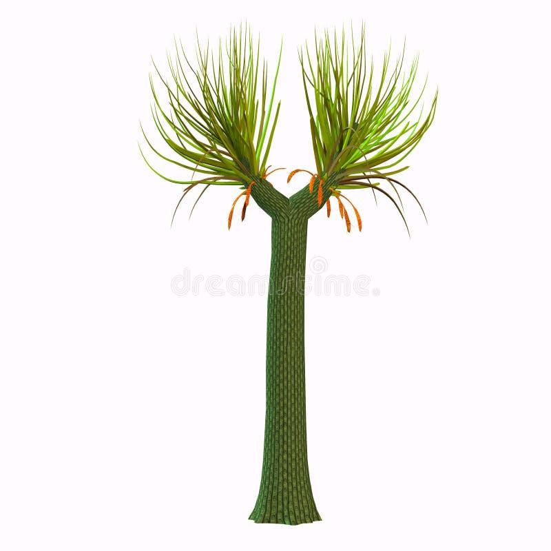 Árbol de Sigillaria stock de ilustración