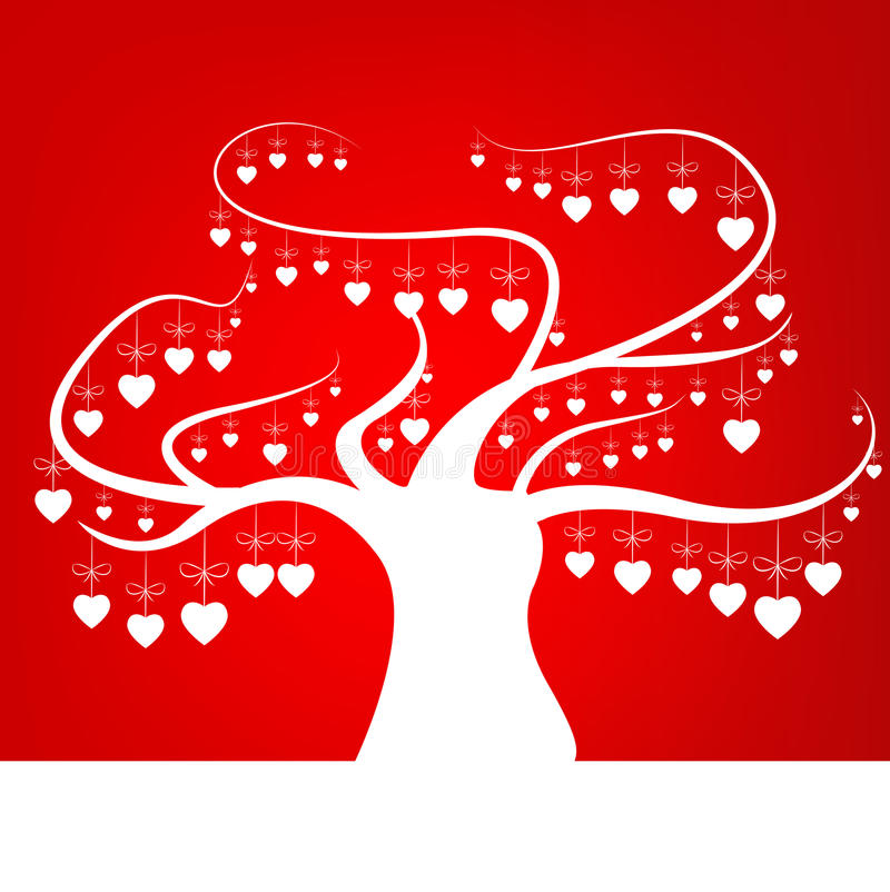 Árbol del amor libre illustration