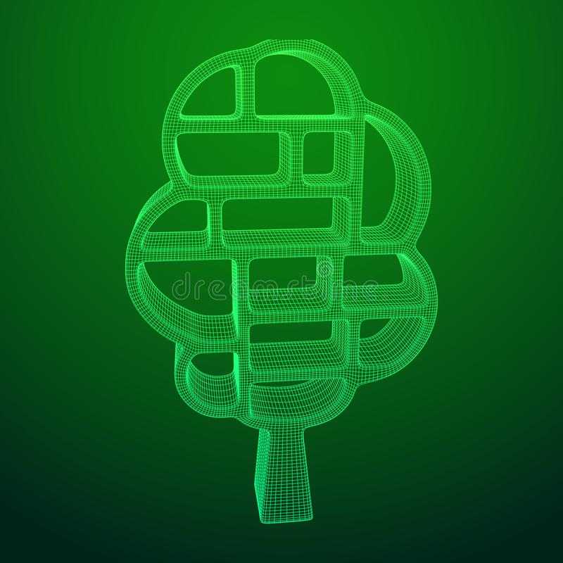 Árbol del conocimiento ilustración del vector