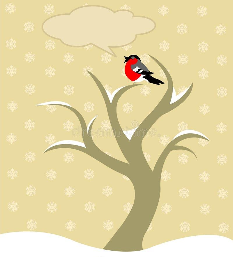 Árbol del invierno libre illustration