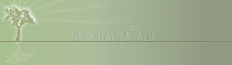 Árbol del radiante de la bandera libre illustration