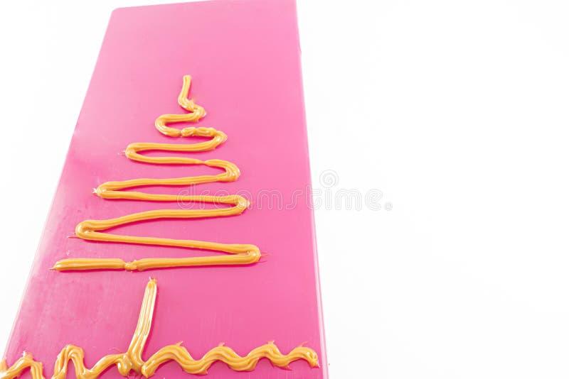 Árbol dibujado con el caramelo foto de archivo libre de regalías