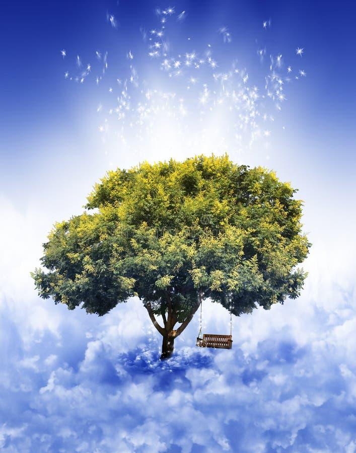 Árbol en cielo