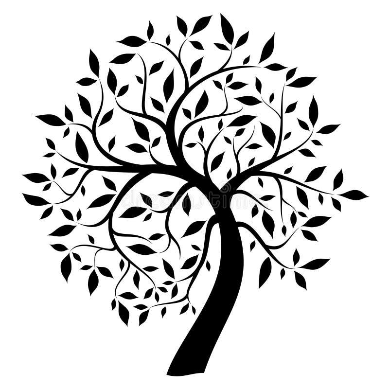 Árbol negro libre illustration