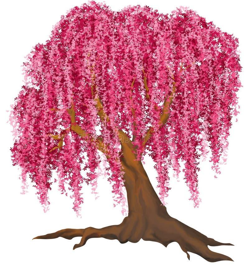 Árbol rosado libre illustration