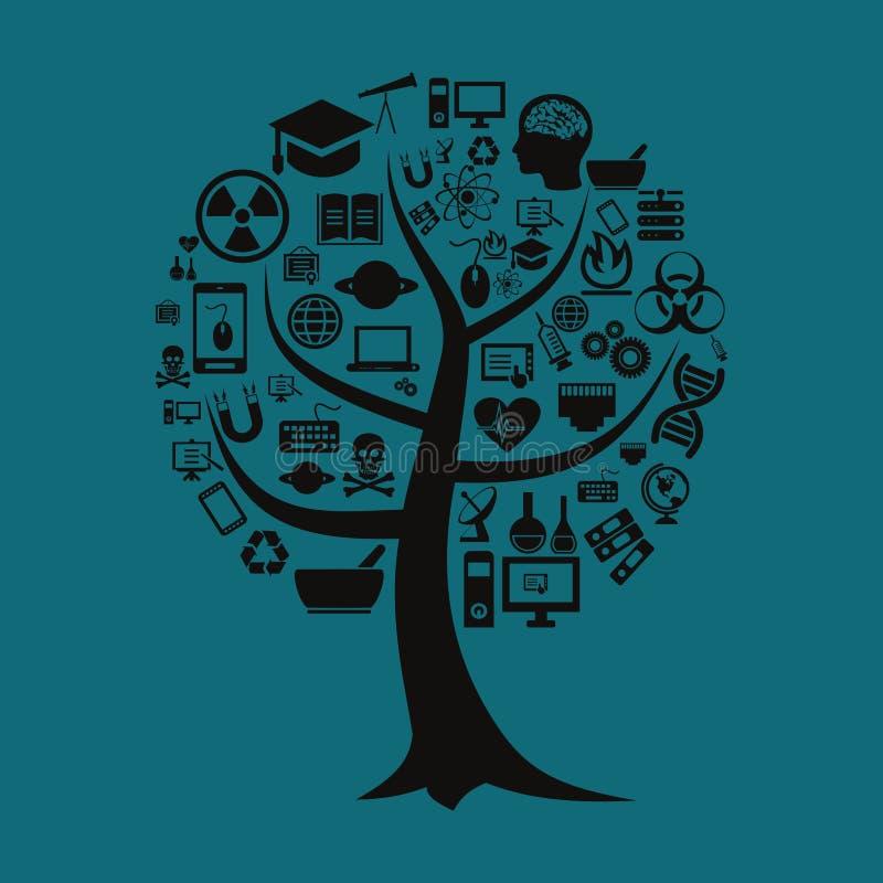 Árbol una ciencia libre illustration