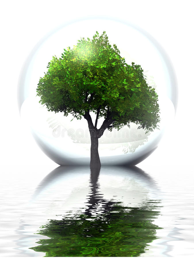 Árbol verde libre illustration