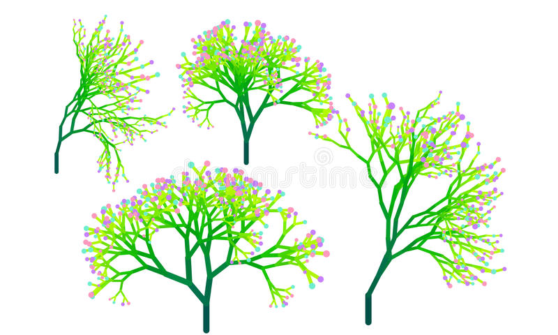 árbol verde de la planta imágenes de archivo libres de regalías