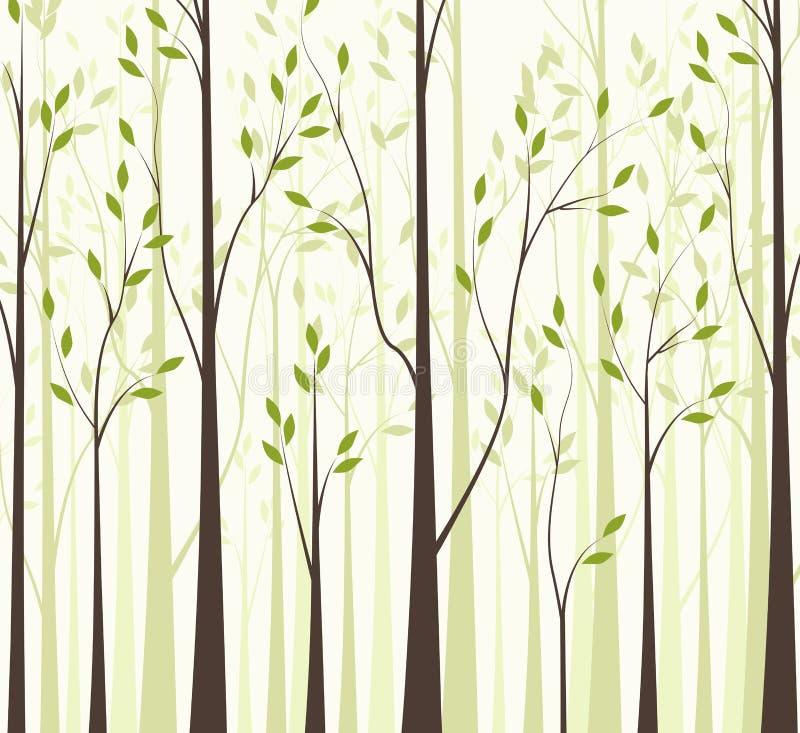 Árboles 43 stock de ilustración