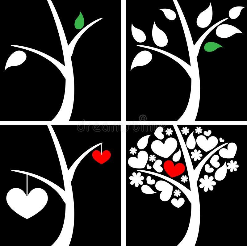 Árboles abstractos libre illustration