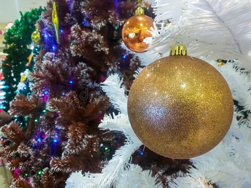 Árboles de navidad hermosos imágenes de archivo libres de regalías