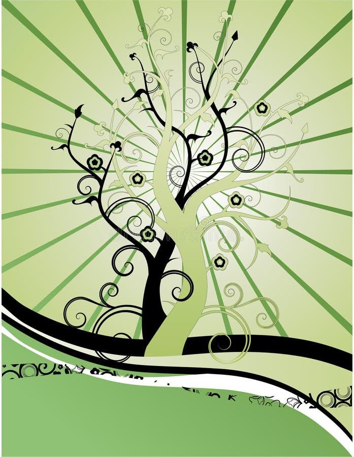 árboles del plexo libre illustration