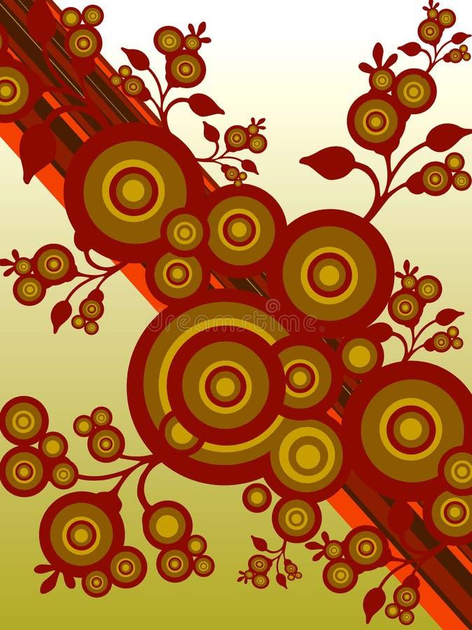 Árboles modernos ilustración del vector