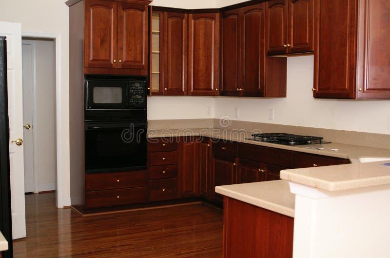 Área casera de la cocina imagen de archivo