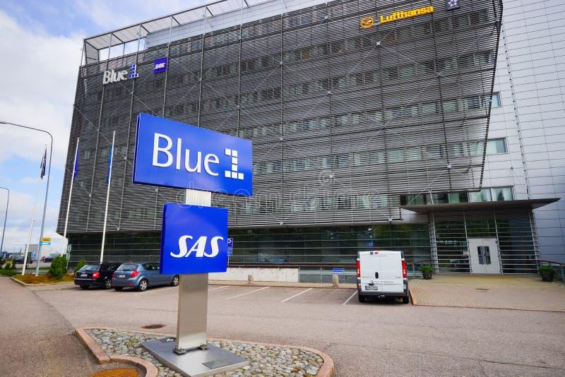 Área cerca del aeropuerto de Helsinki imagen de archivo libre de regalías