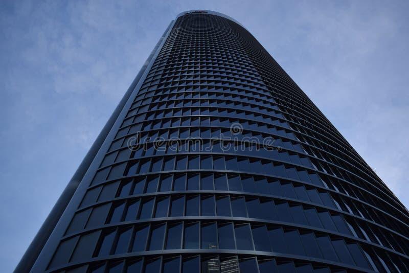 Área comercial de 4 torres imágenes de archivo libres de regalías