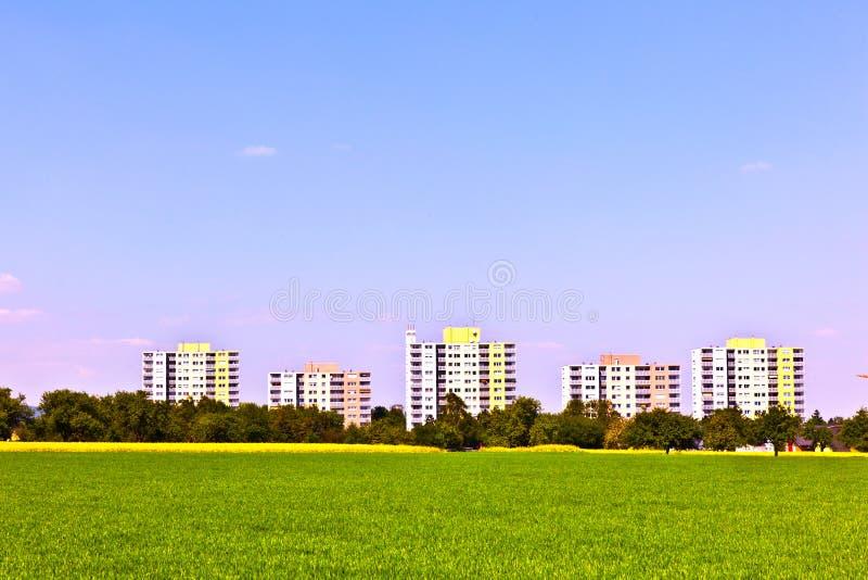 Área da carcaça na paisagem rural fotos de stock royalty free