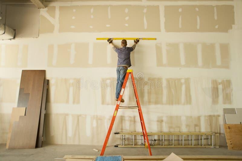 Construção interior imagens de stock