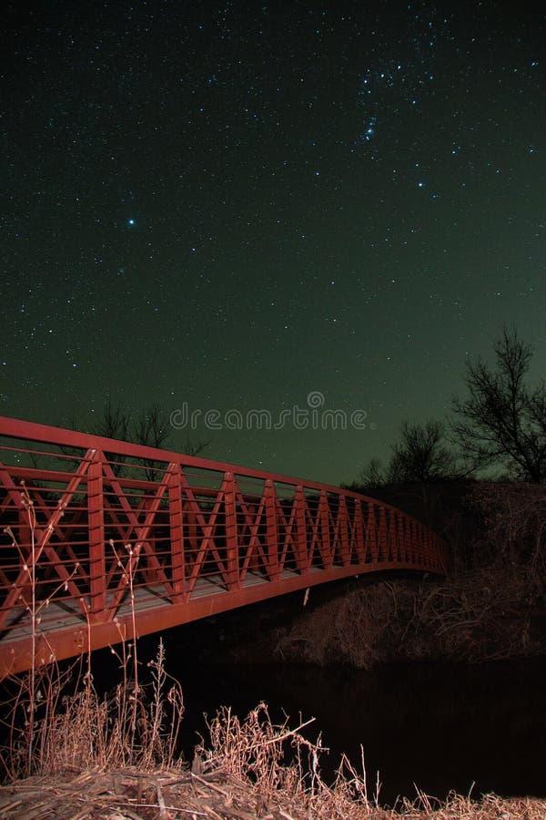 A área da natureza do Beaver Creek é uma conserva de natureza em South Dakota rural imagem de stock royalty free