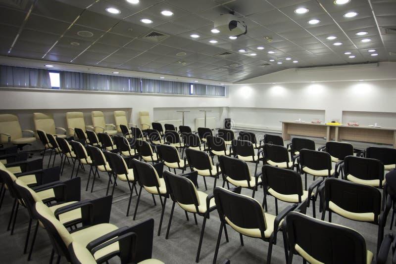Área da reunião imagem de stock