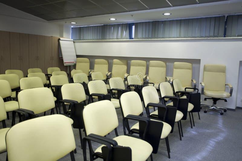 Download Área da reunião imagem de stock. Imagem de cadeiras, conferência - 12806959