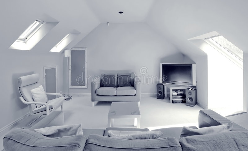 Área da sala de estar foto de stock royalty free