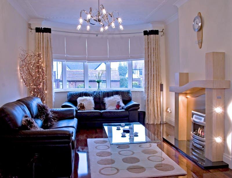 Área da sala de estar fotos de stock royalty free