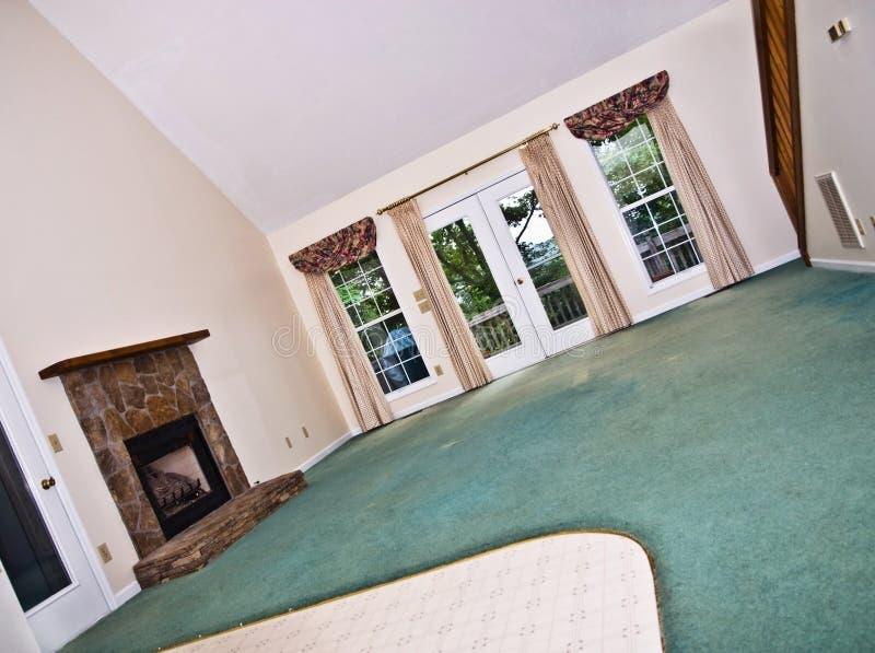 Área da sala de visitas da HOME fotos de stock