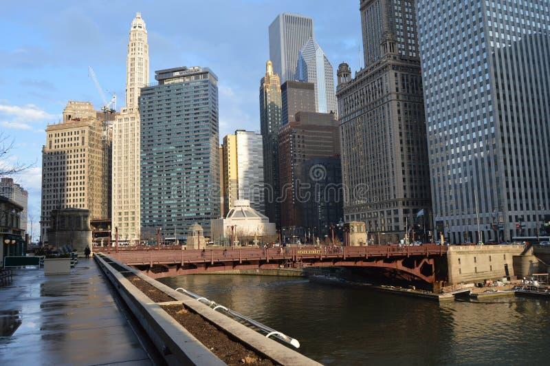 Área de Chicago fotos de stock