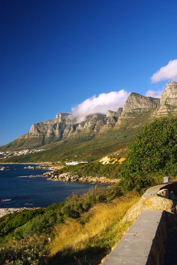 Área de Ciudad del Cabo foto de archivo libre de regalías