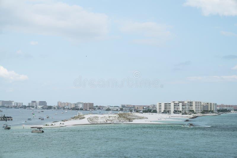 Área de Destin em Florida imagem de stock royalty free