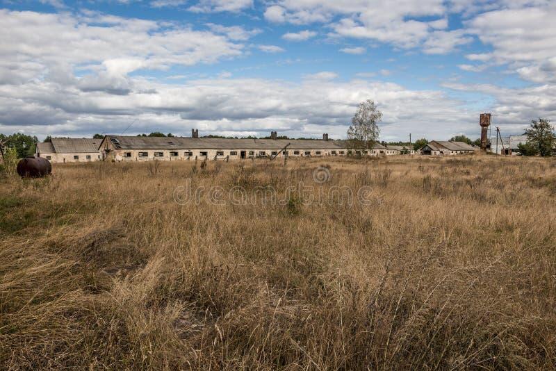 Área de exclusión de Chernóbil fotografía de archivo libre de regalías