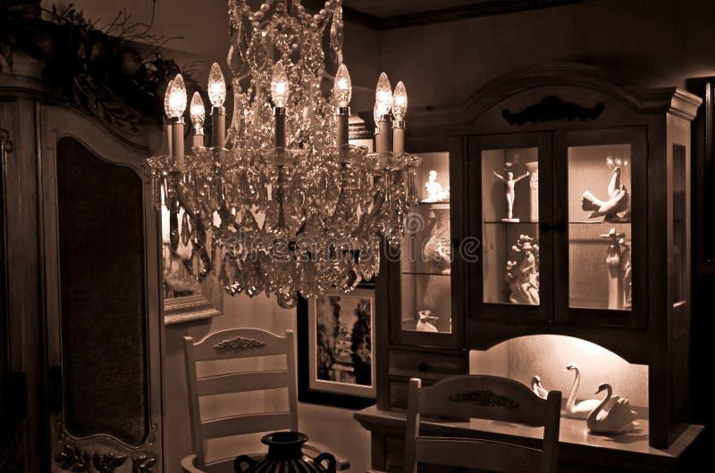 Área de jantar formal imagens de stock royalty free