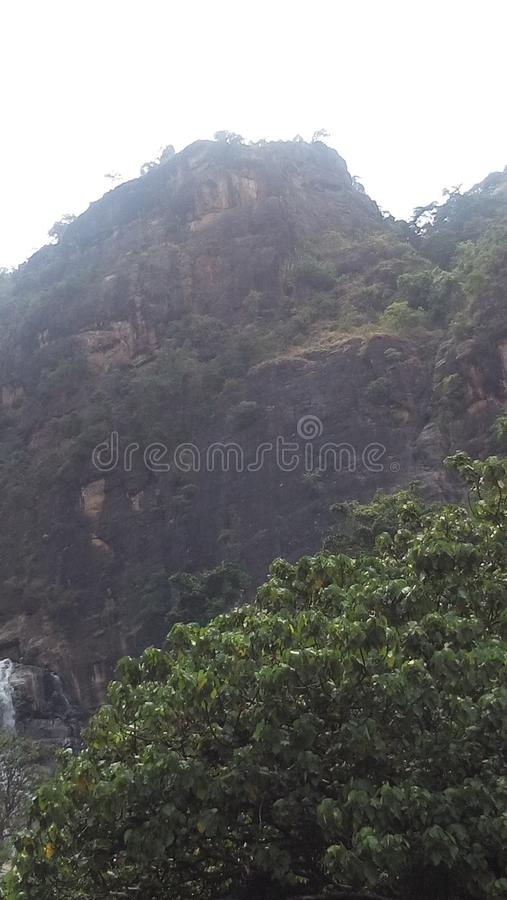 Área de montanha em Sri Lanka fotografia de stock royalty free