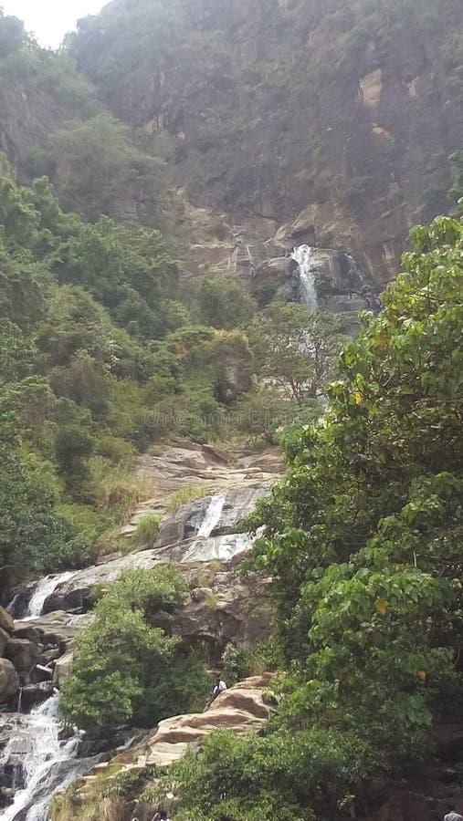 Área de montanha em Sri Lanka imagem de stock royalty free
