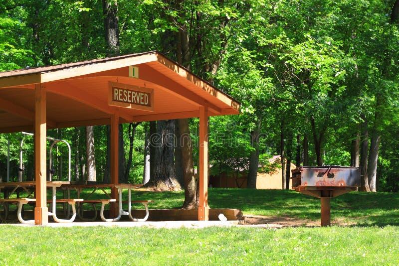 Área de picnic foto de archivo libre de regalías