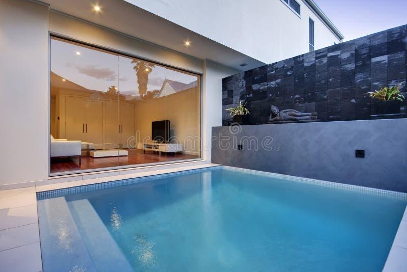 Área de piscina fotos de archivo libres de regalías