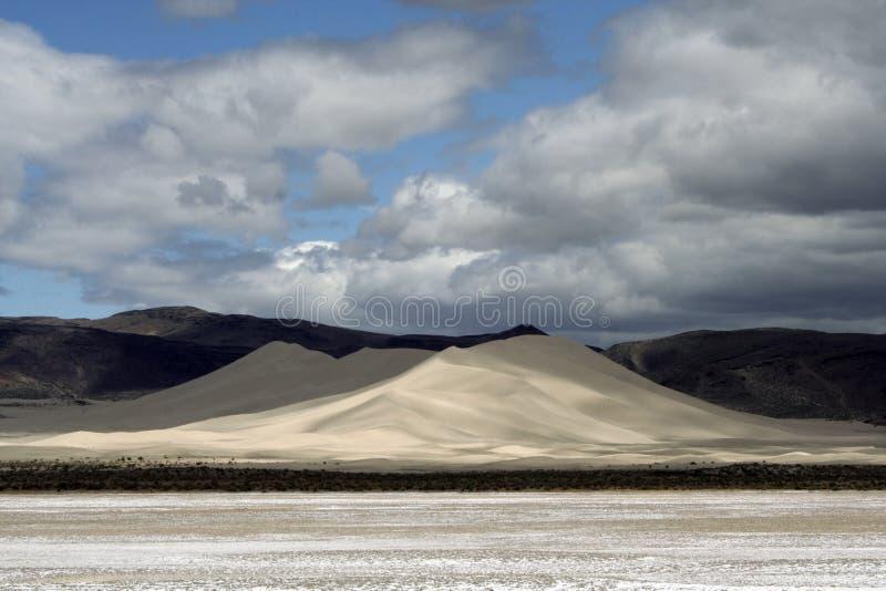 Área de recreação da montanha da areia foto de stock royalty free