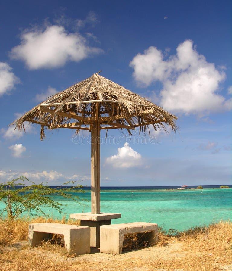 Área de repouso em Paradies fotos de stock royalty free