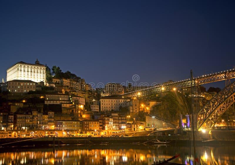 Área de Ribeira de Porto Portugal imagem de stock