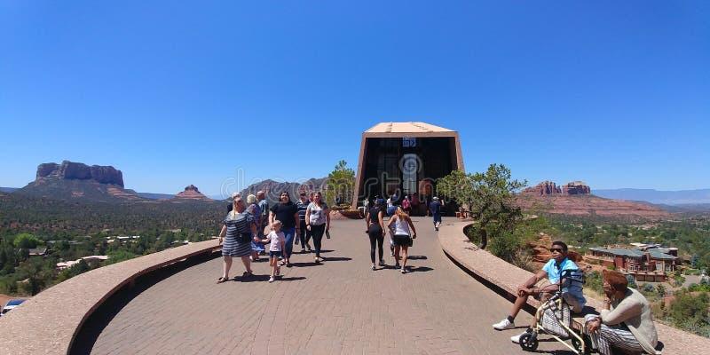 Área de Sedona, o Arizona, no verão imagens de stock royalty free