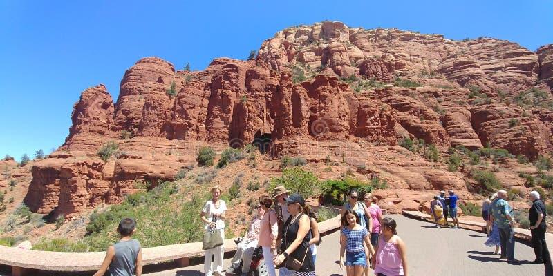 Área de Sedona, o Arizona, no verão imagem de stock royalty free
